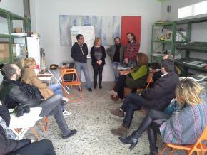 Παρουσίαση της Σπείρας Γης σε ΜΜΕ στο εργαστήριο μας στο Αιγίνιο