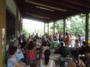 Παρουσίαση της Σπείρα Γης, Εργλανη, Θεσσαλονίκη Ιούνιος 2015